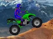 Drive your ATV across 10 levels as you keep from tipping over. Take it easy, if you go fast lose.