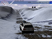 Your goal in BMX X3 Adventure is to drive your car on the snowy mountains and reach your destination as quickly as possible. The quicker you able to complete the course the more bonus points you will earn. Use the keyboard arrow keys to control the movement of your car. You have to avoid all the obstacles on the road and follow the arrow marks to reach your destination. You can also check the mini-map on the top right corner of the screen to get an idea of the track.