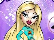 In Bratz Model Make Over you play the role of a stylist and your objective is to mix and match different tops, bottoms, shoes, and jewelries and creates hottest styles for your favorite Bratz girl in the Bratz magazine cover picture. Once you have finished creating the stylish look click on the go button to design the cover. You can add some headlines, captions, and even change the background of the magazine. Use your mouse to interact with various objects in the game.