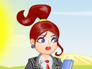 In Chic Office dress up game you have to help a cute girl who is getting ready for her work. This is the first day of her job and she needs to look like a professional in her appearance. Help the girl to choose the perfect outfit for her office and look smart. Select from several tops, bottoms, shoes, hair styles, earrings, eye lenses, lip colors and other accessories to make her look perfect for the job. You can also choose from two different background styles in this awesome thing.