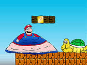 Clinically Obese SMB is cool version of Mario game where our beloved hero Mario has been transformed into a really fat guy. You will find all the characters in the Mario world are unusually obese. Probably they are eating a lot of junk fast foods when you are not playing with them! Use the left and right arrow keys to control the movement of Mario and press up arrow key to jump. Kill all the enemies by jumping over them or at least try to jump over them! Destroy everything on your way and meet the level boss at the end.