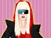 Lady Gaga is a well know American singer whose real name is Stefani Germanotta. Lady Gaga is getting ready to sing on the stage but she is not able to decide what to wear and your objective is to help Lady Gaga to dress up perfectly for her stage show. Use your mouse to drag and drop various tops, bottoms, dresses, eye glasses, shoes, wigs, jewelries, and other accessories to dress up her. Lady gaga has a unique style and if you want to know what she likes to wear you can click on the hint button to get some ideas about how to dress up her.