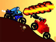 Use weapons, strategy and your jacked up bike to beat out your rival in Diesel and Death!