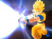Select from Gohan or Goku as your favorite character and start fighting against the villain in Dragon ball 2. You have to be very quick if you want to beat the evil guy. Use your mouse to control the movement of your hero and press the left click button to attack him. The evil will move randomly and attack you with the powerful lightening strikes and you have to attack him before he is able to hit you. Watch out for your health bar and if it depletes you will die.
