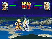 In Dragon ball Z Power Level your objective is to defeat the evil Vegeta in a do or die death match. You have to be very quick and skillful if you want to beat Vegeta. Use the keyboard arrow keys to move, A key to throw the fire ball, press X key to kick, Z to punch, S key for punch, press spacebar button to recharge your chi energy bar, and X or Z key for smash. A smash is automatically executed when you attack your enemy while having a full charged chi energy bar.