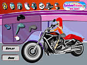 Harley Davidson is one of the most famous American bikes of all times and your objective is to dress up a hot girl riding the bike. You can even add some styles to the bike to make it cool. Use your mouse to select various dressup and fashion items. Choose from several tops, bottoms, cool dresses, shoes, and eye glasses to dress up the sexy lady. You can also select the color of the bike seat and add some cool stickers on it by clicking on the options.