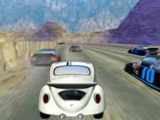 Race down the track with your beetle. Beat your opponents to the finish line.
