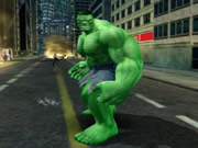 Hulk is very angry and he wants to smash everything in his sight. You have to help Hulk to create as much damage as possible to the city before the time runs out and he turns back into his human form Dr. Bruce banner. Use the left and right arrow keys to move, up and down arrow keys to climb up and down the sides of buildings, press spacebar to punch, and use the control key and the direction key in combination to jump. Watch out for the army tanks, helicopters, etc and try to avoid the bullets otherwise you will lose precious times.