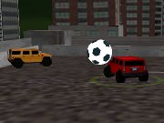 Challenge two other Hummer drivers for a match of soccer.