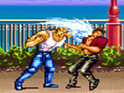 Karate Blazers is a cool retro-style street fighting game where your objective is to survive unrelenting enemy attacks as long as possible. Try to beat as many enemies as possible in this awesome fighting game. Select your fighter from Mark, Glen, Akira, or Gil and start fighting against your enemies on the streets. Use keyboard arrow keys to move, press X key to attack, and use C key to jump. You have to move quickly and attack your enemies before they able to hit you.