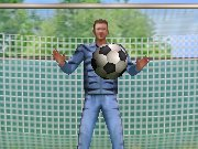 Heres your chance to teach Coach Weston a lesson. Kick the ball past Phil into the net and score! Careful, if you miss three shots your outta there. Score a goal and prove Phil you are skilled enough to play in his team!