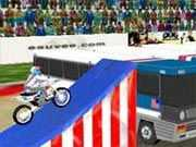 Play the role of Robbie Kaptain Knievel, the son of famous stuntman Evil Knievel. He began jumping his bicycle at age 4 and rode motorcycles at age 7.