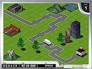 In Konnectors your objective is to connect two places by constructing road so that the car reaches its target. You have to build the road fast and if the car hits a roadblock the game will be over. Use your mouse to place track on the ground and if you want you can change the track block by clicking, but remember the more you click the less you will score. Sometime you may have to stop at the gas station to fill up the gas tank. You will score higher if you increase the speed, but remember to build tracks ahead of time else you will fail.