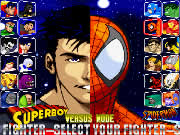 In Marvel-vs-DC you play the role of X-men (Marvel) characters and fight against the Justice League (DC) characters. Choose from Wolverine, Cyclops, Gambit, or Psylocke and start fighting against the DC characters (Aqua man, Batman, and Wonder Woman). Use arrow keys to move, press S and D keys to attack. You have only two minutes to beat your opponent and in each death match you have to win at least two rounds in a three rounds fight. Try to win each round as quickly as possible to score higher points.