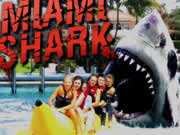 Take a wild ride through the action packed daily routine of a Miami Shark, the destruction and mayhem is bound to rip your face off right through the screen. Intense shark-tion includes intense explosions, mass genocide of innocents and adrenaline pumping insanity. Warning: game will blow up your monitor.