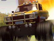 Race your own Monster Truck & crash everything you see! You need to get to the end of the level destroying as many enemy units on your way as possible. Pick up power ups - they are going to help you on your mission.