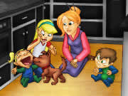 Become the perfect nanny by cleaning the messes as soon as they appear in Nanny Mania game. All the messes in the house will have a yellow rim and you have to use your mouse to click on the dirty objects to clean them up before the time runs out. Some messes can be cleaned in one click, but for some you need multiple steps like laundry and garbage. Your next step will always flash yellow to help you out. Keep the house neat and clean by doing all the works promptly.
