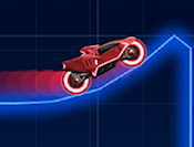 Race your neon bike over the course pulling off some awesome stunts along the way to rack up some extra points. You can even use the arrow keys to change the colors of your neon bike.