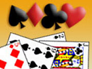 For all the lovers of solitaire here is a game that you can play online. This is an awesome solitaire game that you will enjoy at your break times. This is a highly addictive solitaire game too. Play this cool solitaire game using your mouse. Click on the cards to shuffle them. You can also select from six types of colorful backsides with pictures of celebrities. If you are stuck in a game you can always restart it by clicking on the restart button.