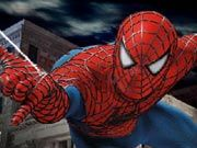 Your mission is to help Spiderman to rescue his girlfriend Mary Jane who has been kidnapped by the vile Venom. You have to swing across the city and reach Mary Jane before the time runs out. Venom will try to stop you by throwing bombs and you have to avoid them by all means. Use up arrow to climb up, down arrow to climb down, left and right arrow to move, and spacebar to jump. Position yourself properly before each jump else you will miss the swinging web. Also remember the lower you are on the swinging webs the longer the jumps and the higher you are the shorter the jumps.