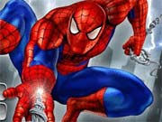 Help Spiderman to throw his web on buildings and platforms to travel as much distance as possible in the city. Shoot your web towards various objects or buildings to swing from one place to another. Your objective is to reach as much distance as possible to score higher points. Do not fall below while swinging from one position to another else you will die. Use your mouse to aim and click the left mouse button to throw web. Your mouse position will determine the direction of your throw.