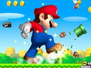 Mario was returning from vacation and suddenly he noticed that the evil Bowser attacked his mushroom kingdom and captured the princess peach. Mario has to go after Bowser to save his love from evil clutches of Bowser. Help Mario to explore the evil world, beat all the enemies and finally save the princess. Use left and right arrow keys to walk, up arrow to jump, and press spacebar to use fludd. Crush the enemies by jumping over them and collect coins to score points.