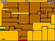 Super Mario World Flash is another flash remake of Super Mario game with cool graphics and some additional game play features. Use the keyboard arrow keys to move, press A key to jump, use S key to run or pick up carapace, press and hold S key for higher jump, and press spacebar button to pause the game or go to menu. The game consists of 19 wonderful levels. Your objective is to help Mario to reach the end of each level while defeating all the enemies. Collect gold coins and other items on your way to help in your quest.