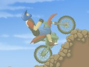 3 progressively harder levels of balancing your motorcycle and make it over the mountain openings.