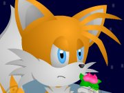 Tails is in outer space this time and his mission is to bring back as many gold rings as he can. Watch out for spikes and lasers.