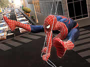 Be the amazing Spiderman and web your way through the city from building to building. Your objective is to collect as many Underoos t-shirts and boxers as you can while jumping from one building to other without falling into the traffic below. You have to collect the transformers t-shirt at the end of each level to progress to the next one. Use your mouse to aim and click to shoot web. If you want to locate all the t-shirts you need to click on the city map to use your binocular.