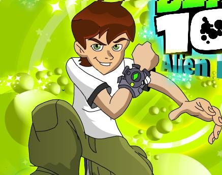 Play Ben 10 alien balls