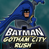 Jump, Glide and Slide through mile after mile of Gotham City in this nonstop arcade platformer. This game combines the dynamics of an arcade game with the keyboard mashing addictiveness of a twitch game.