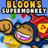 Take control of Super Monkey as he embarks on a Bloon popping frenzy through 5 stages and 15 waves.