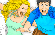 Everyone loves some little coloring action and doing it online is even more fun. Especially if you are a fan to the HSM characters, this is something you will enjoy. The HSM characters need some color and all you have to do is select the colors you want to give them and use your mouse to give them the colors of your choice. It