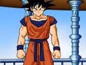 Dress Up Goku as you want!