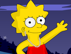 Always thought adorable little Lisa Simpson could use some extra help taking care of her look? This sweet character Lisa Simpson wants to get a general look makeover so join in the fun and help her try out from dozens of different outfits, including jewelry pieces and shoes that you can use to give Lisa a different and more fun look. Dress up Lisa is a fun challenge where you can use your fashion sense and creativity to dress up one of the most beloved cartoons of all times, the cute and smart Lisa Simpson. She is always so serious and smart but in the end, she is just a little girl that likes to have fun with fashion too; let
