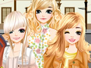 Play Dress up Paris girl