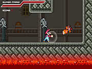 In Mario Combat your objective is to help Mario to combat against Koopa, Goomba, and many other enemies. Mario turned into an aggressive person and instead of jumping over the enemies he is flexing his muscles and beating the enemies violently. Use the arrow keys to walk, press A key to jump, S key to attack, and use D key to throw fireballs. Reach the castle at the end of each level to progress to the next one. Beat all the enemies and do not let your health bar to deplete by avoiding all the enemy attacks.