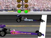 Burn rubber on the track in Drag Racing! Wait for the lights to turn green, stomp the gas, and watch the car fly. Watch your RPMs to make sure you don