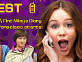 Help Miley find her diary. Hurry up or the whole school will read her secrets!