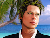 Make up 3 famous movie stars. Their names are Jennifer Aniston, Brad Pitt and Angelina Jolie. You know they look great on TV and in the cinema, but you can make them even more beautiful in this game.