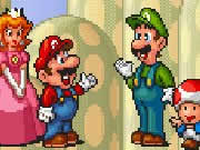 Infinite Mario Brothers is a cool Mario game where your mission is to kill all the enemies by jumping over them and reach the flag at the end of each level to progress to the next. You have to visit different worlds and bonus levels to score as many points as possible. Collect coins to score extra points. Eat mushroom to grow bigger and flower to throw fire balls. Use the keyboard left and right arrow keys to walk, press S key to jump or do actions, and A key to throw fireballs.