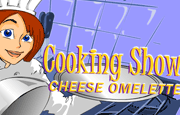 Ready for another fun cooking show? What about baking a cheese omelette, do you know how to make one? What more fun way to learn how to cook then with your computer? This cooking show will teach you all the steps of making a delicious omelette. You will get to virtually break the eggs, grind the cheese, and use your mouse to mix the ingredients. Then you will have to fry them and throw them in the air like a real pro! Mix all the ingredients in the correct order without failing and get extra bonus! Try to do everything right and you might end up a professional Omelette maker.