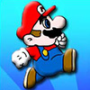Dress up Mario in different colored cloths and funny accessories.