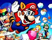 Mario bros will colleting the mushroon and stars and shoot the Goombas in the Sky.