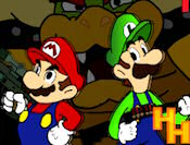 Play Super Mario Rambo Bros