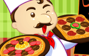 Making pizzas is fun; they are so mouth watering and imagining that you could play along choosing your favorite topping for the pizzas can be very exciting and now you can live the fantasy of the pizza maker! In this