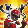 Choose your hero between the red power ranger or the robot.