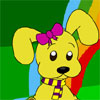 Pumi the Puppy is a real fashion nut - so dress up the cute puppy right now!