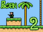 Robin the Mercenary 2 is back in town! This time, Robin is equipped with a machine gun and there is new bugs and new weapons and new powerups to choose from.